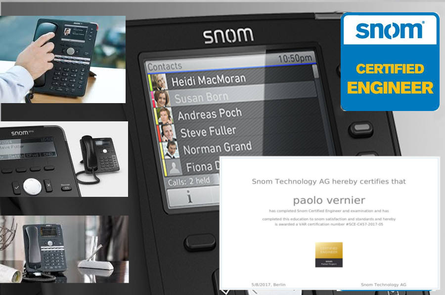"""Certificazione SNOM """"SCE"""": per una comunicazione evoluta"""