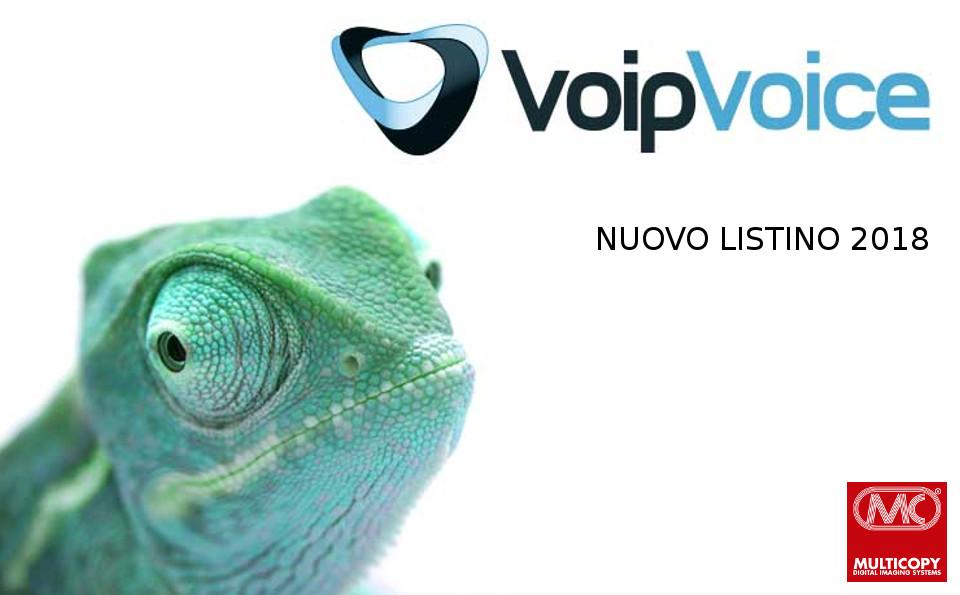 Nuovi listini Voip voce