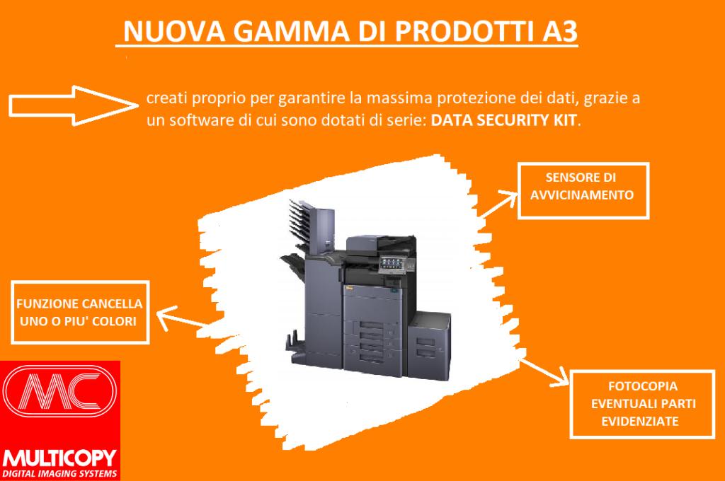Nuova gamma di prodotti a3 che rendono i sistemi di stampa ultrasicuri
