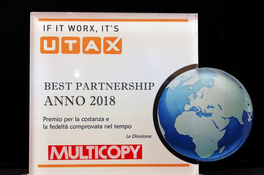 Best Partnership Utax 2018