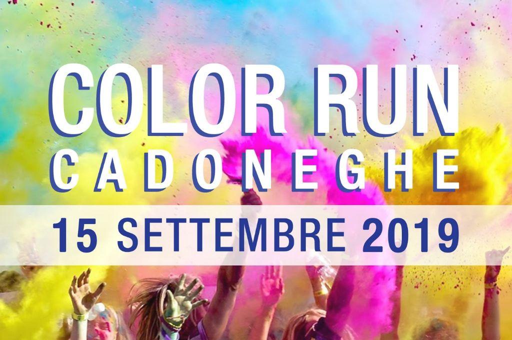 Color Run Cadoneghe 15 Settembre 2019