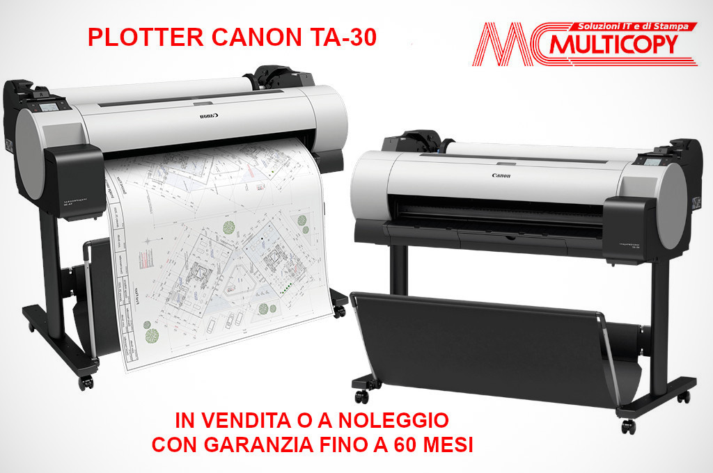 Plotter Canon in vendita o a noleggio